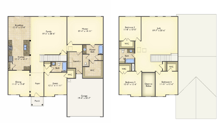 Adams floorplans image