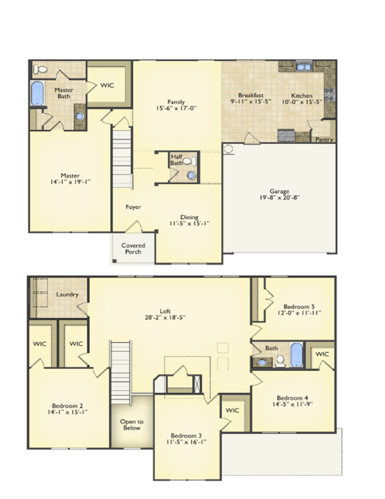 Arlington floorplans image