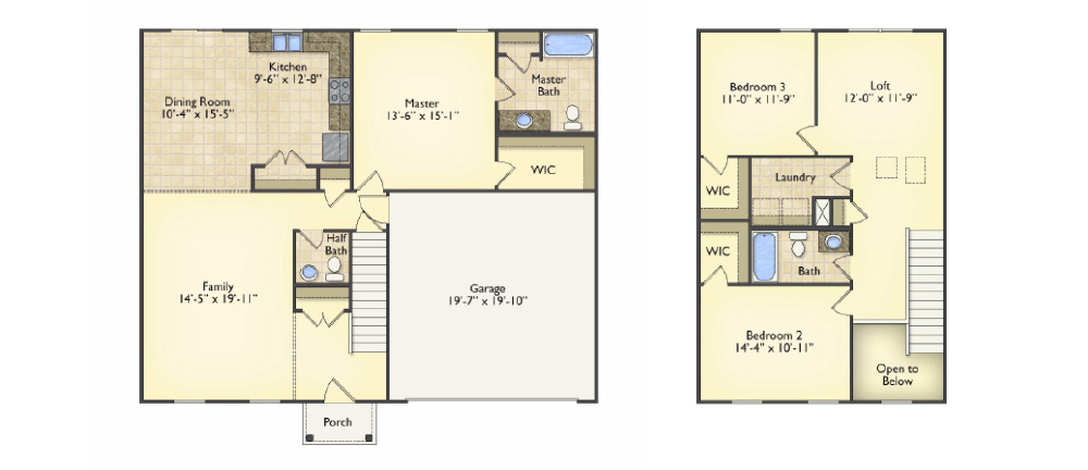 Brighton floorplans image