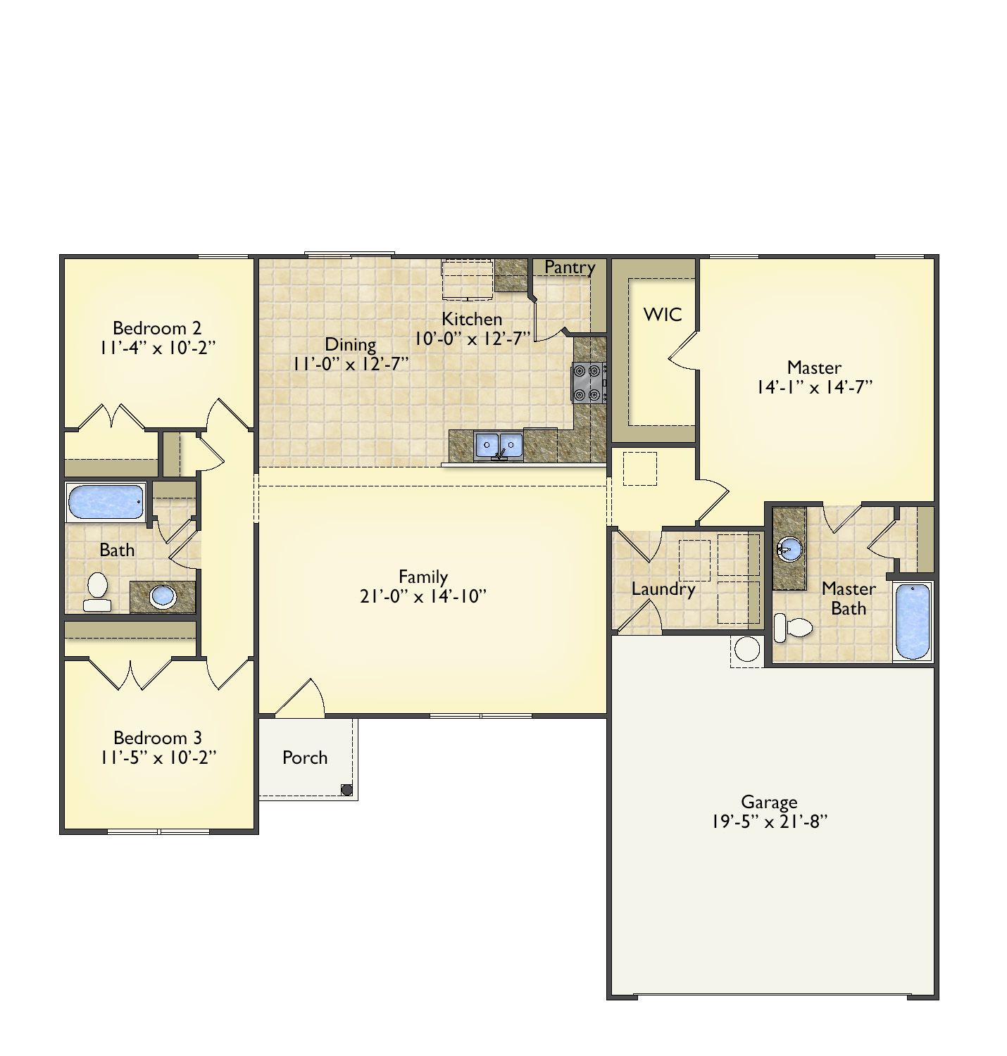 Kincaid floorplans image