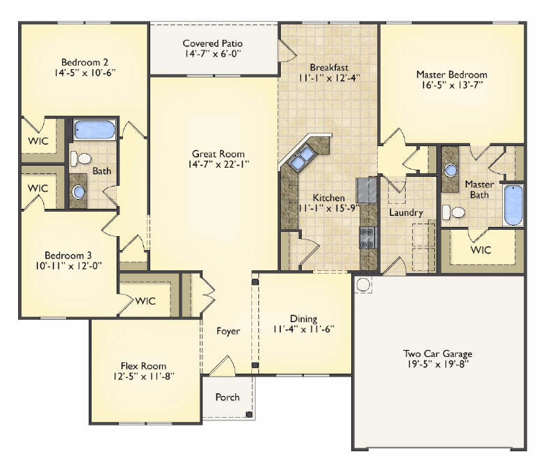 Lexington floorplans image