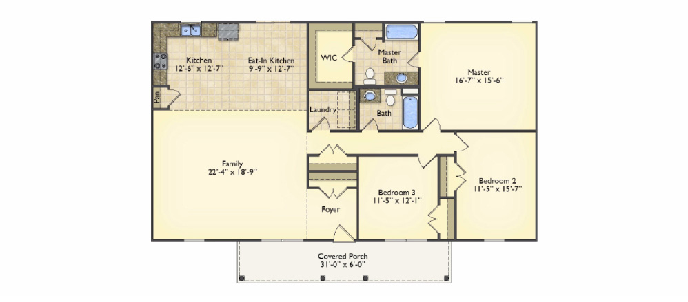 New Bern floorplans image