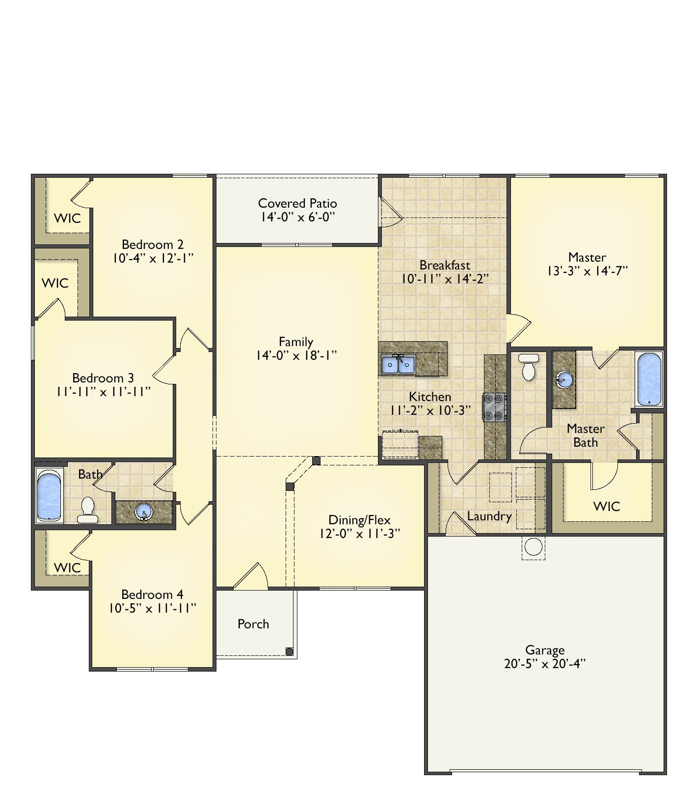 Richfield floorplans image