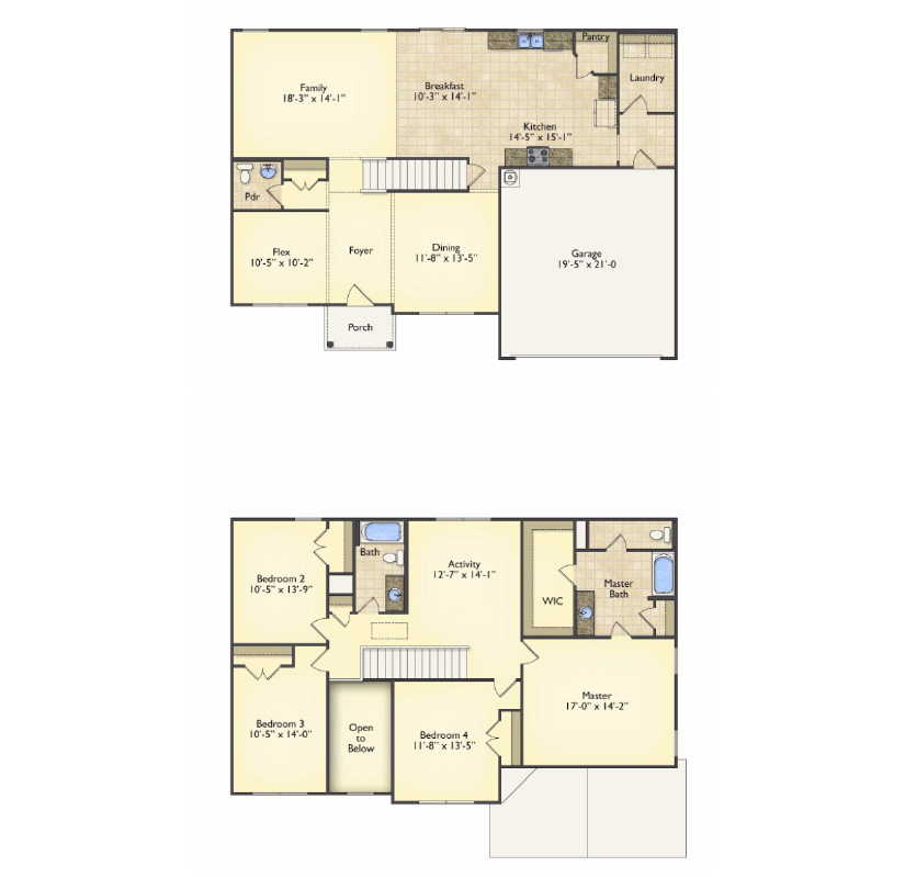 Riverside floorplans image