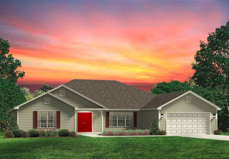 Westmoreland Red Door Homes Of Central Oklahoma
